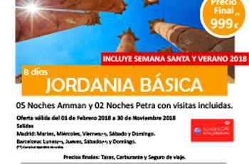 Jordania Básica 2018