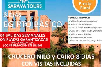 ofertas para viajar a egipto con saraya tours
