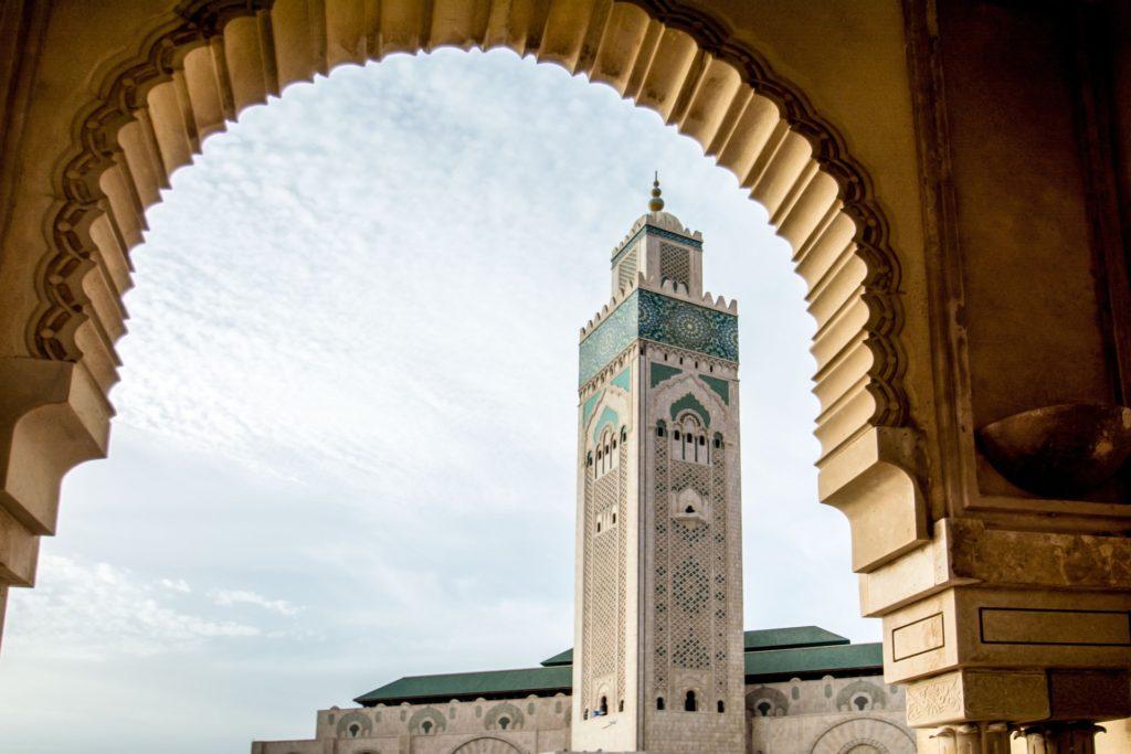 viajar a marruecos mezquita hassan casablanca