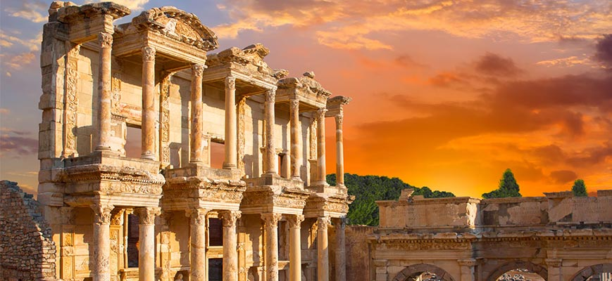 Ruinas de Ésfeso en Turquía