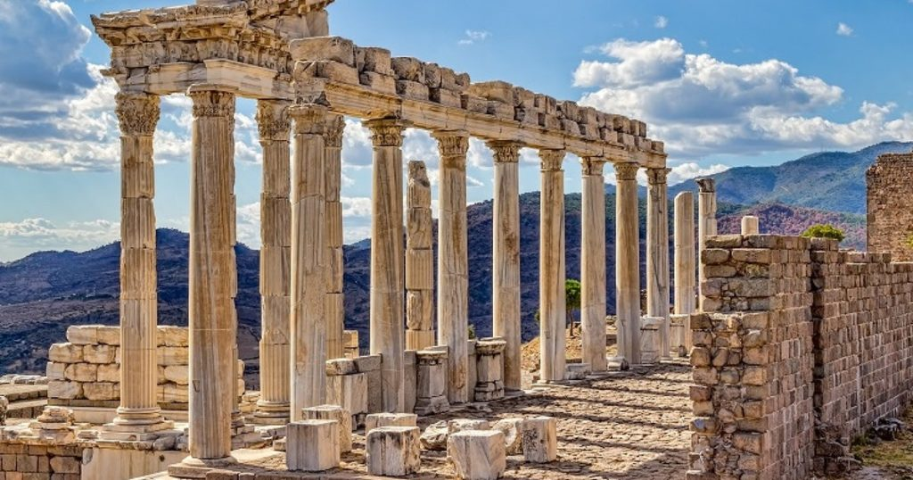 Ruinas Asclepion en Pergamon