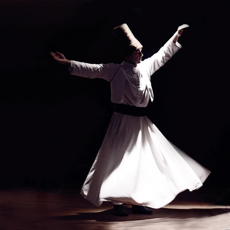 Derviche danzando el Sama