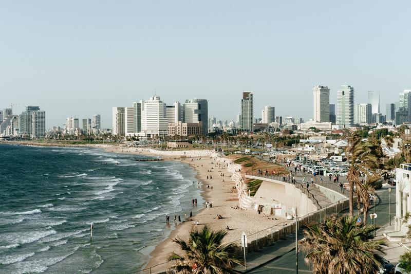 Las playas de Tel Aviv