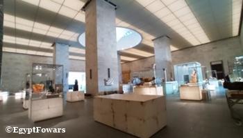 sala principal museo Sharm el Sheikh