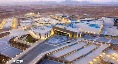Vista aérea Museo Sharm el Sheikh