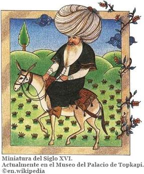 Miniatura S. XVI cultura popular turca