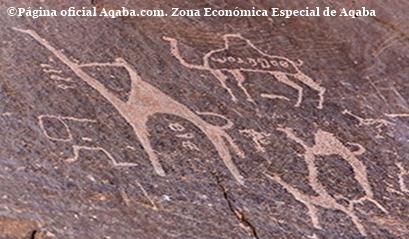 petroglifos wadi rum