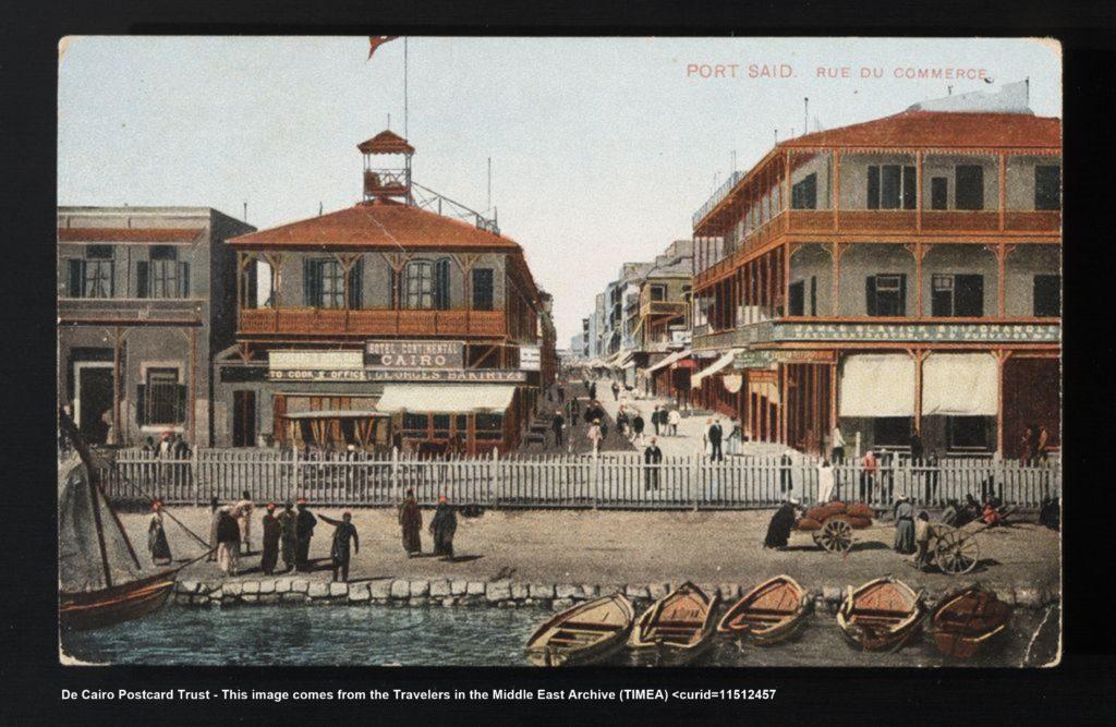 Port Said Foto antigua