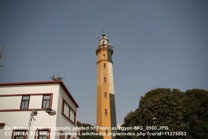Faro de Port Said Egipto