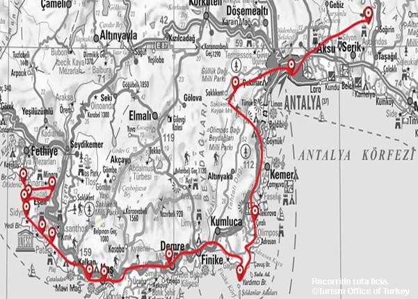 Ruta Licia Trekking