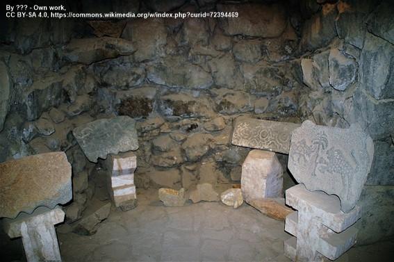 Interior castillo Qasr Al Azraq